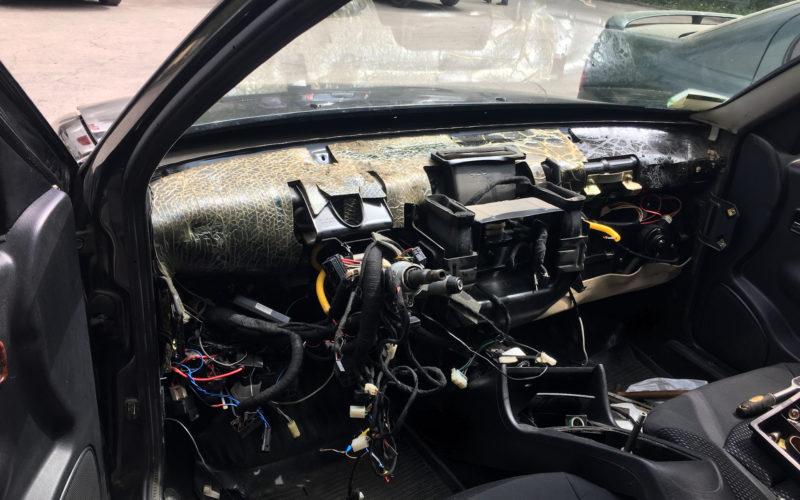 Замена радиатора отопителя печки Чери амулет, последовательность замены